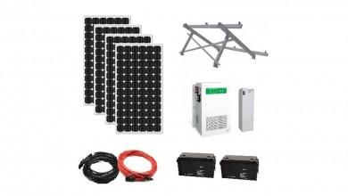 Self-installing Photovoltaic kits