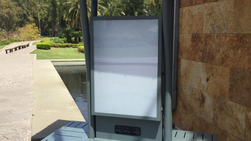 Solar Urban Furniture created by Intermepro at the LG dealers event in Sofitel Cardales