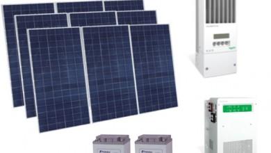 Autonomous Photovoltaic Energy 2.4Kw