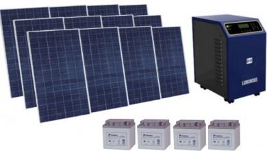 Autonomous Photovoltaic Energy 3Kw