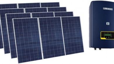 Grid tie Photovoltaic generator 3Kw