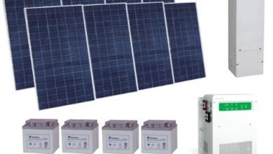 Autonomous Photovoltaic Energy 3Kw SE