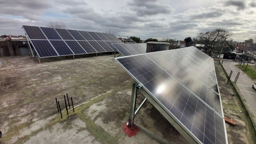 """GRID-TIE PHOTOVOLTAIC RENEWABLE POWER SYSTEM INSTALLATION, """"IND. AUTOMAC SRL"""""""
