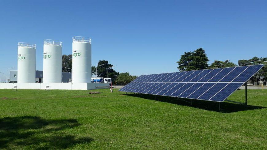 Instalacion Energia FV en YPF en Salto