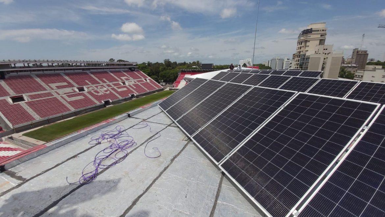 Instalacion Sistema FV en Estadio Estudiantes de La Plata