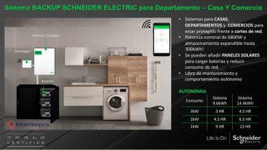 Backup Schneider Electric XW