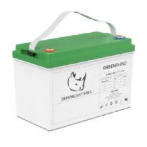 Batería Plomo Crystal GREEN RHINO de 12V